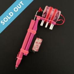 Pink Toothbrush Handmade...