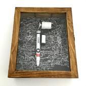White Molotow handmade prison tattoo machine✨ www.kaputhandmade.com Info / Custom orders: info@kaputhandmade.com