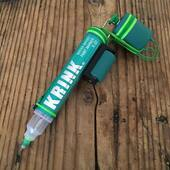 Light Green Krink handmade prison tattoo machine✨ www.kaputhandmade.com Info / Custom orders: info@kaputhandmade.com